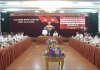 Đoàn công tác của Trung ương làm việc với Ban Thường vụ Tỉnh ủy về công tác chuẩn bị, tổ chức Đại hội đảng bộ các cấp.