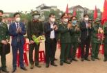 Huyện Ý Yên tổ chức lễ giao nhận quân năm 2021.