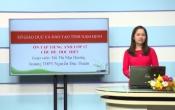 Dạy học trên truyền hình: Ôn tập kiến thức Anh Văn 12 - TOPIC REVIEW: EDUCATION _ FOLLOWING ( 01/05/2020 )