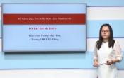 Dạy học trên truyền hình: Ôn tập kiến thức Anh Văn 9 - Chuyên đề: Đọc hiểu về chủ đề môi trường ( 04/04/2020 )