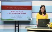 Dạy học trên truyền hình: Ôn tập kiến thức Hóa học 12 - HƯỚNG DẪN ÔN TẬP CÁC CÂU HỎI LÝ THUYẾT KHÓ ( 29/04/2020 )