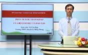 Dạy học trên truyền hình: Ôn tập kiến thức Hóa học 12 - PHÂN TÍCH ĐỀ THAM KHẢO CỦA BỘ GD & ĐT ( 26/04/2020 )