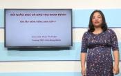 Dạy học trên truyền hình: Ôn tập kiến thức môn Tiếng Anh lớp 9 ( 05/03/2020 )
