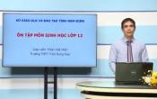 Dạy học trên truyền hình: Ôn tập kiến thức Sinh Học 12 - TÍNH QUY LUẬT CỦA HIỆN TƯỢNG DI TRUYỀN ( 29/04/2020 )