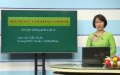 Dạy học trên truyền hình: Ôn tập kiến thức Tiếng Anh 12 ( 20/04/2020 )
