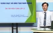 Dạy học trên truyền hình: Ôn tập kiến thức Toán 12- Chuyên đề: PHƯƠNG TRÌNH MŨ & LOGARIT ( 23/04/2020 )