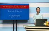 Dạy học trên truyền hình: Ôn tập kiến thức Vật lý 12 - PHÂN TÍCH CẤU TRÚC VÀ HƯỚNG DẪN GIẢI MỘT SỐ CÂU TRONG ĐỀ THAM KHẢO NĂM 2020 CỦA BỘ GD&ĐT ( 27/04/2020 )