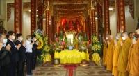 Dâng hương tưởng niệm Đức Pháp chủ Giáo hội Phật giáo Việt Nam Thích Phổ Tuệ