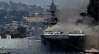Hỏa hoạn tại căn cứ hải quân của Mỹ khiến một số thủy thủ bị thương