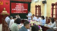 Hội nghị giao ban quý I giữa thường trực Tỉnh uỷ với Uỷ ban MTTQ và các đoàn thể chính trị - xã hội của tỉnh.
