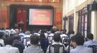 Hội nghị triển khai kế hoạch sản xuất vụ Mùa, vụ Đông 2018 và phòng chống bệnh lùn sọc đen trong vụ Mùa.