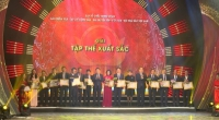 Lễ công bố và trao Giải báo chí toàn quốc về xây dựng Đảng mang tên Búa liềm vàng lần thứ 5 - năm 2020.
