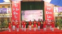 Trường THCS Trần Đăng Ninh tổ chức Ngày hội Sách của em năm 2019.