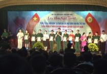 Hội Cựu chiến binh tỉnh tổ chức liên hoan Tiếng hát CCB và trao giải các hoạt động VH-TT