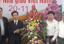 Lãnh đạo tỉnh chúc mừng ngày Nhà giáo Việt Nam
