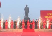 Lễ khánh thành tượng đài Tổng bí thư Trường Chinh.
