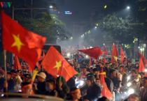 Những hình ảnh chỉ có trong niềm vui U22 Việt Nam vô địch Seagames 30