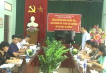 Sở Giáo dục và Đào tạo kiểm tra việc thực hiện nhiệm vụ đầu năm học tại 10 huyện, thành phố.
