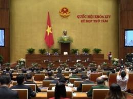 Khai mạc kỳ họp thứ 8, Quốc hội khóa XIV.