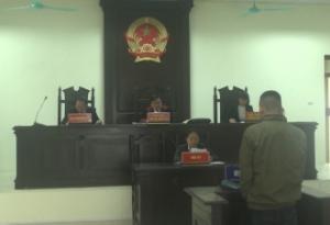 """Tòa án Nhân dân tỉnh mở phiên tòa xét xử 2 vụ án về tội """"Vận chuyển hàng cấm""""."""