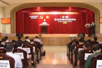 Hội nghị Tập huấn diễn tập khu vực phòng thủ (KVPT) tỉnh Nam Định năm 2021