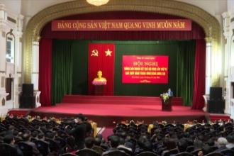Tỉnh ủy Nam Định tổ chức hội nghị thông báo nhanh kết quả hội nghị lần thứ tư, Ban chấp hành Trung ương Đảng khóa XIII.